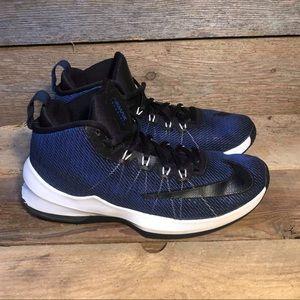 Nike Air Max Infuriate Mid Blue Men's Sz 8 Worn 1x